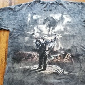 The mountain summoning the storm shirt